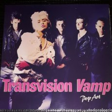 Discos de vinilo: TRANSVISION VAMP - POP ART. Lote 131733063