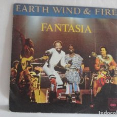 Discos de vinilo: EARTH WIND & FIRE - FANTASIA. Lote 131737350