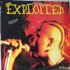 Discos de vinilo: LP DE THE EXPLOITED , FOOLS GOLD ! , AÑO 1986 (KOMA 788032) , VINILO EN MUY BUEN ESTADO. Lote 131743730