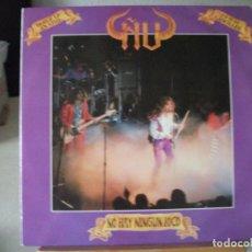 Discos de vinilo: DOBLE LP DE ÑU EN DIRECTO , NO HAY NINGÚN LOCO (AÑO 1986) , DOBLE CARPETA CON LETRA DE LAS CANCIONES. Lote 131745346