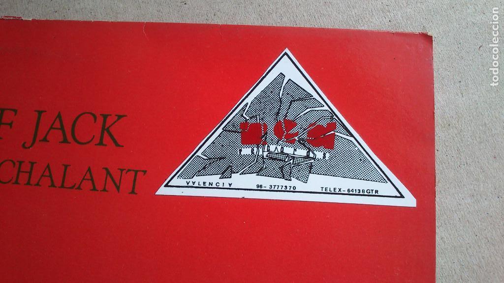 Discos de vinilo: SHERIFF JACK - LET`S BE NONCHALANT - EP - ENGLAND - 1986 - Foto 7 - 131745806