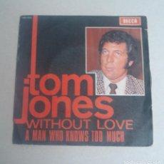 Discos de vinilo: TOM JONES -- ENGELBERT HUMPERDINCK --- LOTE DE 3 VINILOS AÑOS 60 ( VER FOTOS ). Lote 131755078