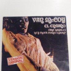 Discos de vinilo: VAN MCCOY THE HUSTLE / HEY GIRL COME AND GET IT ( 1975 AVCO ESPAÑA ) DISCO SOUL FUNK. Lote 131757486