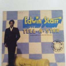 Discos de vinilo: EDWIN STARR TELL A STAR / BOOP BOOP SONG ( 1980 20TH CENTURY FOX ESPAÑA ) . Lote 131757534