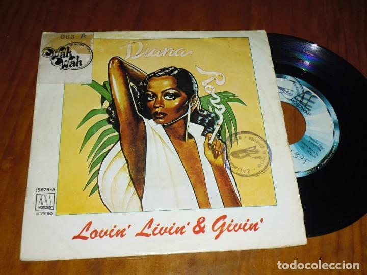 DIANA ROSS . SINGLE - PEDIDO MINIMO 6 EUROS (Música - Discos - Singles Vinilo - Otros estilos)