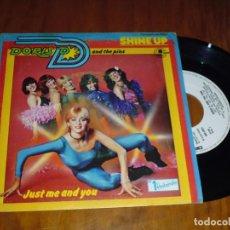 Discos de vinilo: DORIS D AND THE PINS . SINGLE - PEDIDO MINIMO 6 EUROS. Lote 131779342