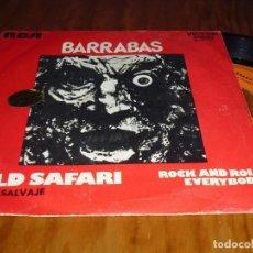 Discos de vinilo: BARRABAS . SINGLE - PEDIDO MINIMO 6 EUROS. Lote 131782622