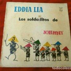 Discos de vinilo: EDDIA LIA Y SUS VOCES (EP 1959) LOS SOLDADITOS DE JOHNNY - LA VIOLETERA, MAMA INES, CIAO BAMBINA. Lote 131792994