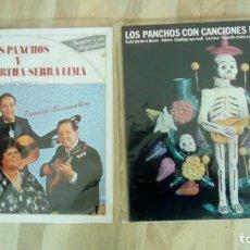 Discos de vinilo: LOS PANCHOS 2 LPS ...Y MARIA MARTHA SERRA LIMA ESENCIA ROMANTICA / CON CANCIONES DE MANZANERO . Lote 131795358