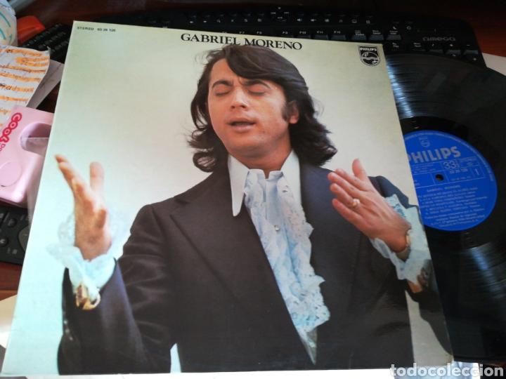 GABRIEL MORENO LP 1974 (Música - Discos - LP Vinilo - Flamenco, Canción española y Cuplé)