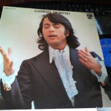 Discos de vinilo: GABRIEL MORENO LP 1974. Lote 131797902