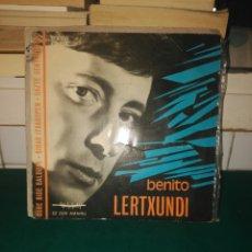 Discos de vinilo: BENITO LERTXUNDI. CINSA 1967. Lote 131815574