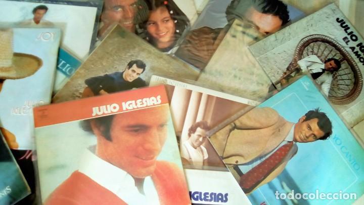 JULIO IGLESIAS -25 TRABAJOS DESDE 1969 A 1994 LOTE DE 27 LPS ORIGINALES VER FOTOS Y DESCRIPCIÓN (Música - Discos - LP Vinilo - Solistas Españoles de los 70 a la actualidad)