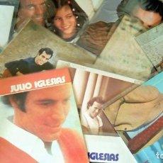 Discos de vinilo: JULIO IGLESIAS -25 TRABAJOS DESDE 1969 A 1994 LOTE DE 27 LPS ORIGINALES VER FOTOS Y DESCRIPCIÓN. Lote 131840518