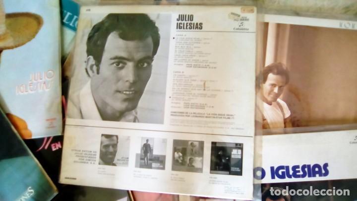 Discos de vinilo: JULIO IGLESIAS -25 TRABAJOS DESDE 1969 A 1994 LOTE DE 27 LPs ORIGINALES VER FOTOS Y DESCRIPCIÓN - Foto 4 - 131840518