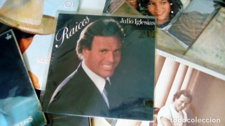 Discos de vinilo: JULIO IGLESIAS -25 TRABAJOS DESDE 1969 A 1994 LOTE DE 27 LPs ORIGINALES VER FOTOS Y DESCRIPCIÓN - Foto 6 - 131840518