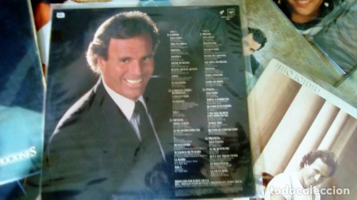 Discos de vinilo: JULIO IGLESIAS -25 TRABAJOS DESDE 1969 A 1994 LOTE DE 27 LPs ORIGINALES VER FOTOS Y DESCRIPCIÓN - Foto 7 - 131840518