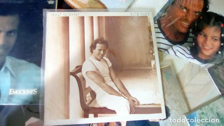 Discos de vinilo: JULIO IGLESIAS -25 TRABAJOS DESDE 1969 A 1994 LOTE DE 27 LPs ORIGINALES VER FOTOS Y DESCRIPCIÓN - Foto 8 - 131840518