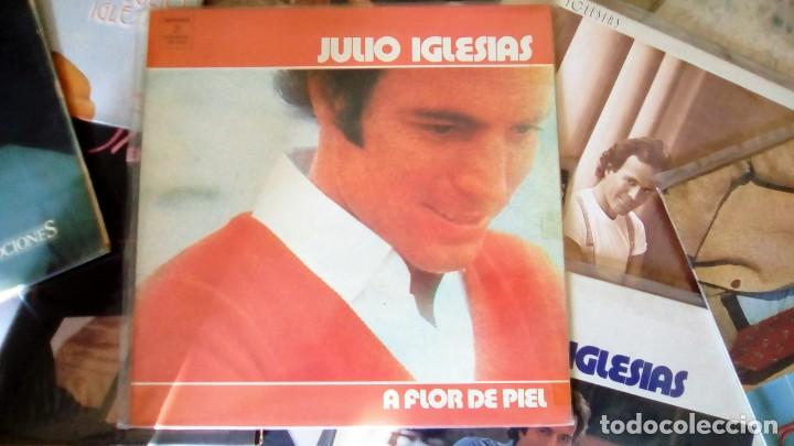 Discos de vinilo: JULIO IGLESIAS -25 TRABAJOS DESDE 1969 A 1994 LOTE DE 27 LPs ORIGINALES VER FOTOS Y DESCRIPCIÓN - Foto 9 - 131840518