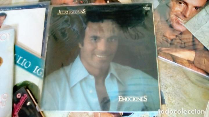 Discos de vinilo: JULIO IGLESIAS -25 TRABAJOS DESDE 1969 A 1994 LOTE DE 27 LPs ORIGINALES VER FOTOS Y DESCRIPCIÓN - Foto 13 - 131840518