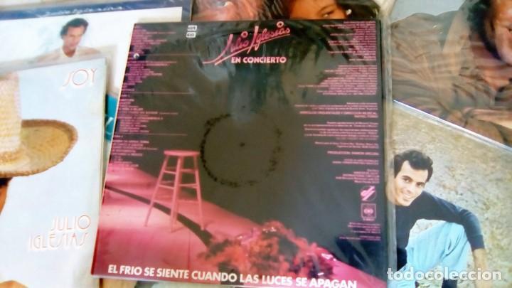 Discos de vinilo: JULIO IGLESIAS -25 TRABAJOS DESDE 1969 A 1994 LOTE DE 27 LPs ORIGINALES VER FOTOS Y DESCRIPCIÓN - Foto 16 - 131840518