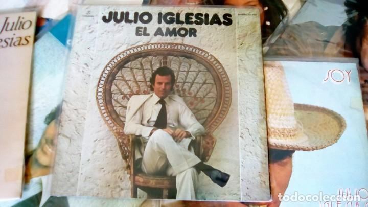 Discos de vinilo: JULIO IGLESIAS -25 TRABAJOS DESDE 1969 A 1994 LOTE DE 27 LPs ORIGINALES VER FOTOS Y DESCRIPCIÓN - Foto 17 - 131840518