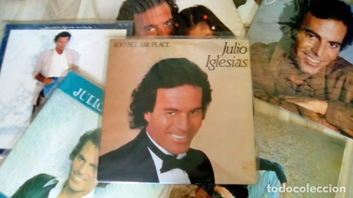 Discos de vinilo: JULIO IGLESIAS -25 TRABAJOS DESDE 1969 A 1994 LOTE DE 27 LPs ORIGINALES VER FOTOS Y DESCRIPCIÓN - Foto 20 - 131840518