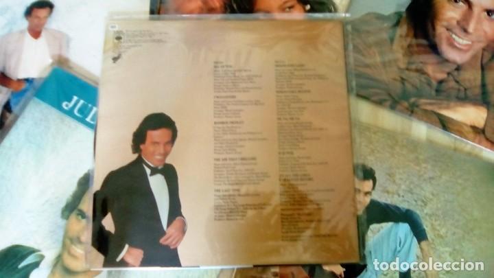 Discos de vinilo: JULIO IGLESIAS -25 TRABAJOS DESDE 1969 A 1994 LOTE DE 27 LPs ORIGINALES VER FOTOS Y DESCRIPCIÓN - Foto 21 - 131840518