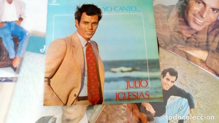 Discos de vinilo: JULIO IGLESIAS -25 TRABAJOS DESDE 1969 A 1994 LOTE DE 27 LPs ORIGINALES VER FOTOS Y DESCRIPCIÓN - Foto 22 - 131840518