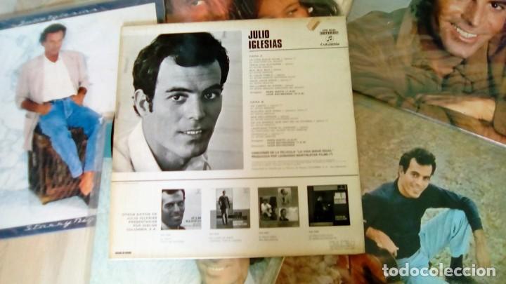 Discos de vinilo: JULIO IGLESIAS -25 TRABAJOS DESDE 1969 A 1994 LOTE DE 27 LPs ORIGINALES VER FOTOS Y DESCRIPCIÓN - Foto 23 - 131840518