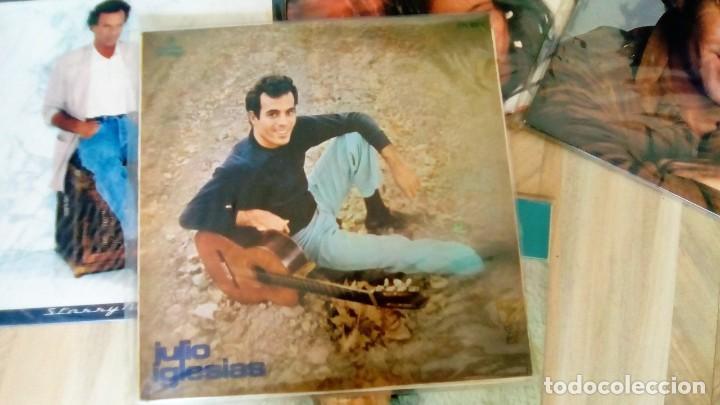 Discos de vinilo: JULIO IGLESIAS -25 TRABAJOS DESDE 1969 A 1994 LOTE DE 27 LPs ORIGINALES VER FOTOS Y DESCRIPCIÓN - Foto 24 - 131840518