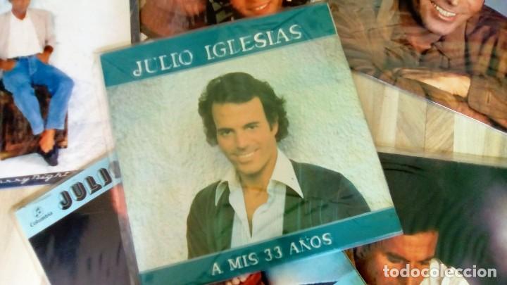 Discos de vinilo: JULIO IGLESIAS -25 TRABAJOS DESDE 1969 A 1994 LOTE DE 27 LPs ORIGINALES VER FOTOS Y DESCRIPCIÓN - Foto 28 - 131840518