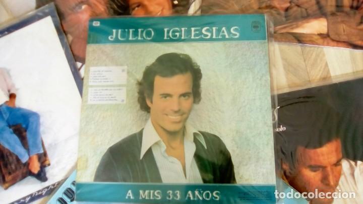 Discos de vinilo: JULIO IGLESIAS -25 TRABAJOS DESDE 1969 A 1994 LOTE DE 27 LPs ORIGINALES VER FOTOS Y DESCRIPCIÓN - Foto 29 - 131840518