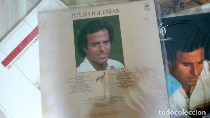 Discos de vinilo: JULIO IGLESIAS -25 TRABAJOS DESDE 1969 A 1994 LOTE DE 27 LPs ORIGINALES VER FOTOS Y DESCRIPCIÓN - Foto 33 - 131840518
