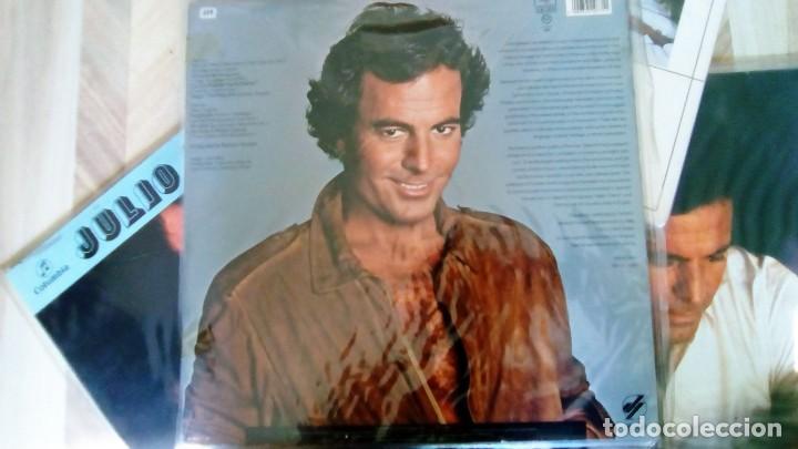Discos de vinilo: JULIO IGLESIAS -25 TRABAJOS DESDE 1969 A 1994 LOTE DE 27 LPs ORIGINALES VER FOTOS Y DESCRIPCIÓN - Foto 35 - 131840518