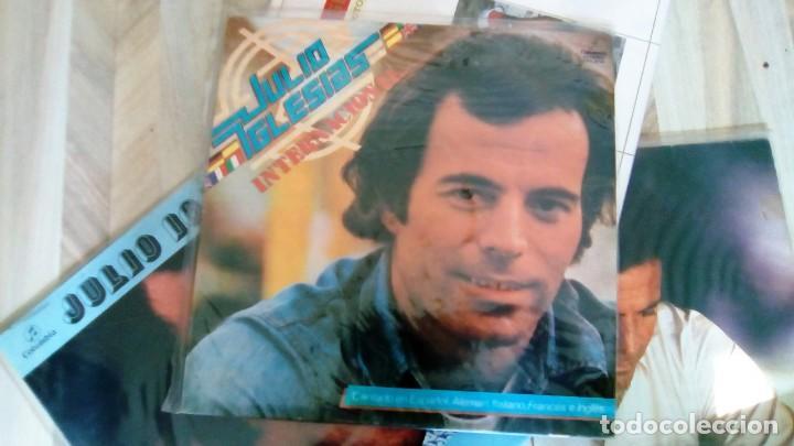 Discos de vinilo: JULIO IGLESIAS -25 TRABAJOS DESDE 1969 A 1994 LOTE DE 27 LPs ORIGINALES VER FOTOS Y DESCRIPCIÓN - Foto 37 - 131840518