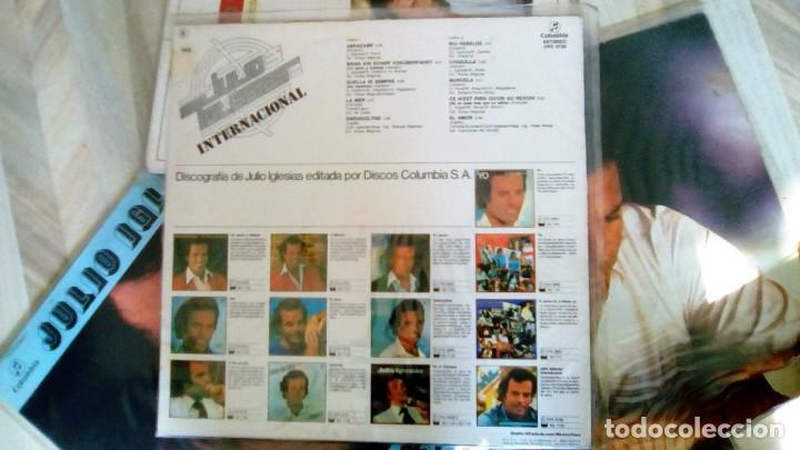 Discos de vinilo: JULIO IGLESIAS -25 TRABAJOS DESDE 1969 A 1994 LOTE DE 27 LPs ORIGINALES VER FOTOS Y DESCRIPCIÓN - Foto 39 - 131840518