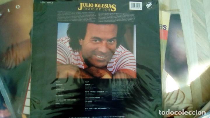 Discos de vinilo: JULIO IGLESIAS -25 TRABAJOS DESDE 1969 A 1994 LOTE DE 27 LPs ORIGINALES VER FOTOS Y DESCRIPCIÓN - Foto 40 - 131840518