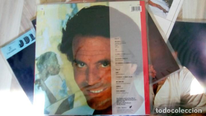 Discos de vinilo: JULIO IGLESIAS -25 TRABAJOS DESDE 1969 A 1994 LOTE DE 27 LPs ORIGINALES VER FOTOS Y DESCRIPCIÓN - Foto 42 - 131840518