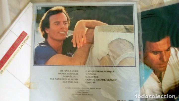Discos de vinilo: JULIO IGLESIAS -25 TRABAJOS DESDE 1969 A 1994 LOTE DE 27 LPs ORIGINALES VER FOTOS Y DESCRIPCIÓN - Foto 49 - 131840518