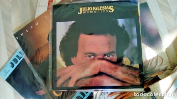 Discos de vinilo: JULIO IGLESIAS -25 TRABAJOS DESDE 1969 A 1994 LOTE DE 27 LPs ORIGINALES VER FOTOS Y DESCRIPCIÓN - Foto 52 - 131840518