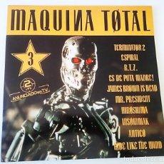 Discos de vinilo: DOBLE LP DE MÁQUINA TOTAL 3. Lote 131848318