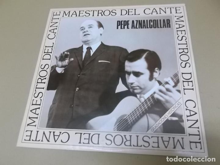 PEPE AZNALCOLLAR (LP) MAESTROS DEL CANTE AÑO – 1973-86 (Música - Discos - LP Vinilo - Flamenco, Canción española y Cuplé)