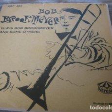 Disques de vinyle: BOB BROOKMEYER ******** RARO EP SUECO COOL JAZZ BUEN ESTADO PORTADA DAVID STONE MARTIN. Lote 131853822