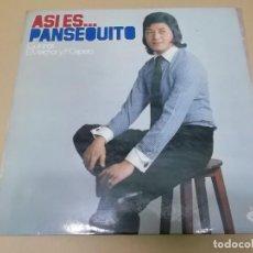 Discos de vinilo: PANSEQUITO (LP) ASI ES…PANSEQUITO AÑO – 1975. Lote 131854086