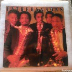 Discos de vinilo: FATHERS & SONS LP PROMO USA 1982 JAZZ ELLIS MARSALIS VG+. Lote 199638332