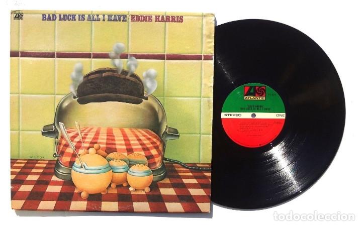 Discos de vinilo: EDDIE HARRIS / bad luck is all i have 75 !! willie bobo, GROOVE FUNK SOUL.. !! ORIG. EDIT. USA !! ex - Foto 4 - 131869354