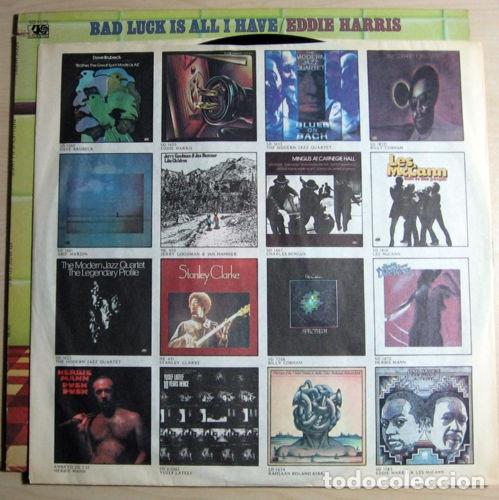 Discos de vinilo: EDDIE HARRIS / bad luck is all i have 75 !! willie bobo, GROOVE FUNK SOUL.. !! ORIG. EDIT. USA !! ex - Foto 5 - 131869354