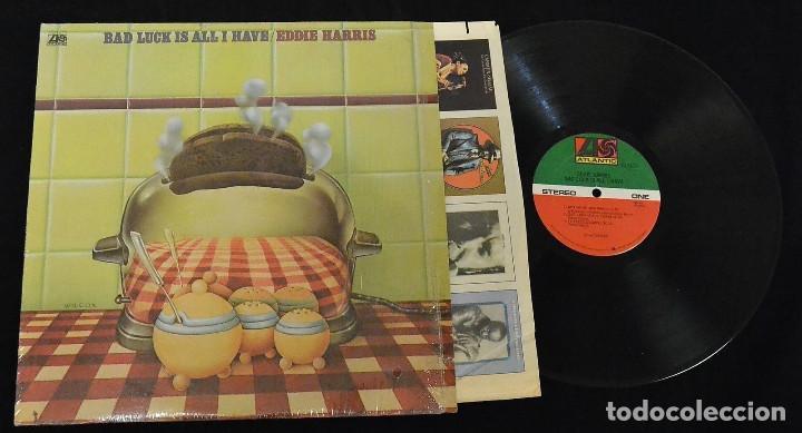 Discos de vinilo: EDDIE HARRIS / bad luck is all i have 75 !! willie bobo, GROOVE FUNK SOUL.. !! ORIG. EDIT. USA !! ex - Foto 2 - 131869354
