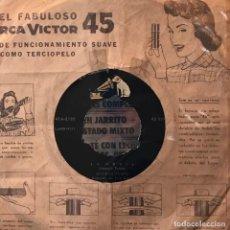 Discos de vinilo: SENCILLO ARGENTINO DE ANTONIO PRIETO AÑO 1960. Lote 131873814